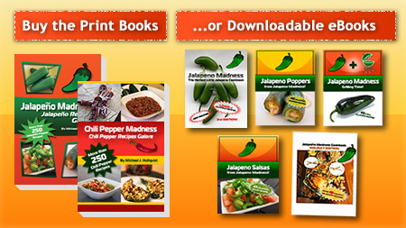 Buy Our Chili Pepper Cookbooks
