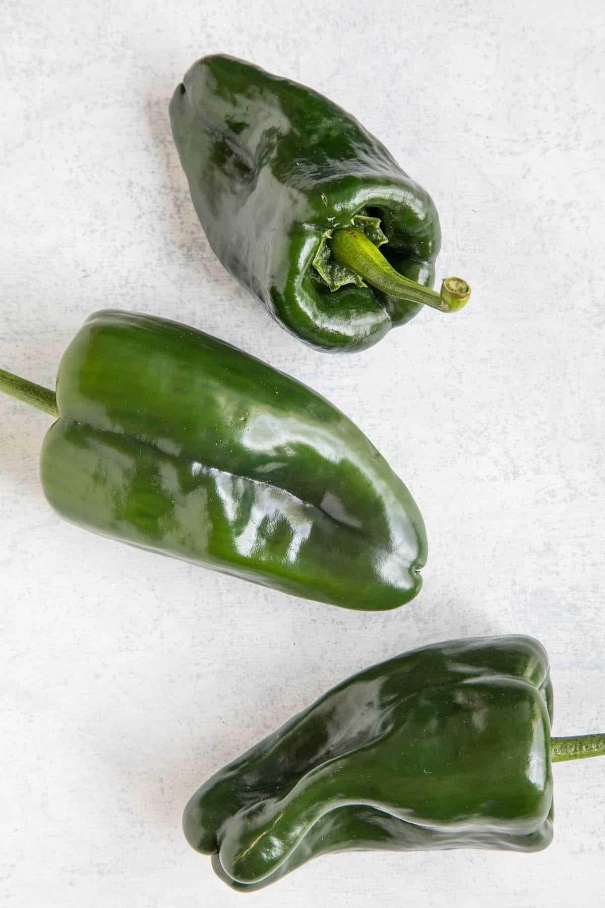 Poblano Peppers – Beloved Mexican Pepper