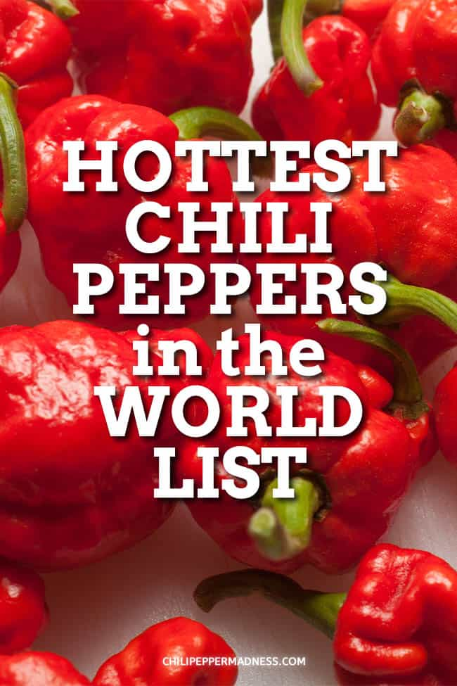 What are the Hottest Peppers in the World? 2020 List