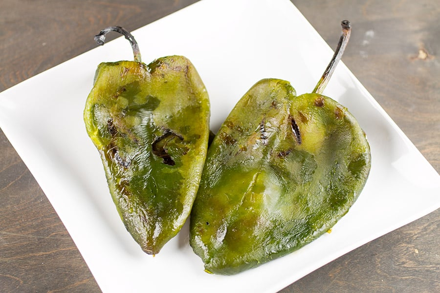 How to Grill Poblano Peppers