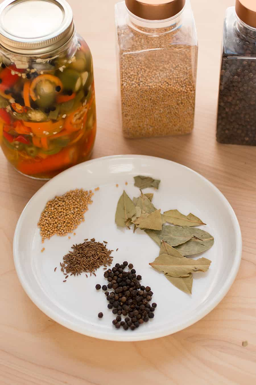 Pickling Spice for Pickled Peppers