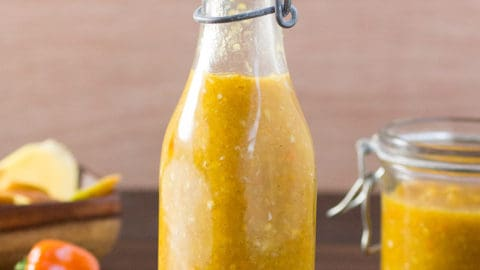 Caribbean-Style Mango-Habanero Hot Sauce – Recipe