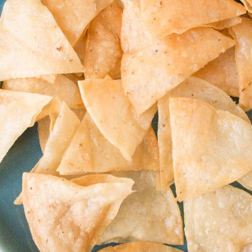 How to Make Homemade Crispy Tortilla Chips - Recipe