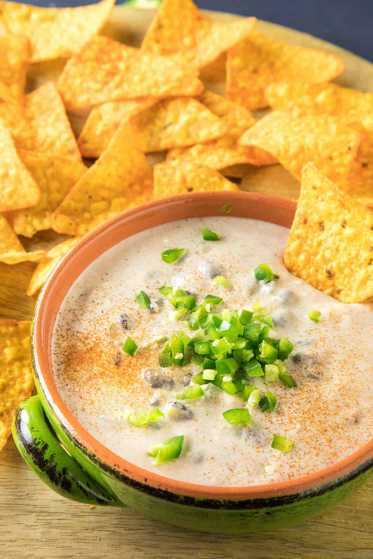 Southwest-Style Cheese Dip