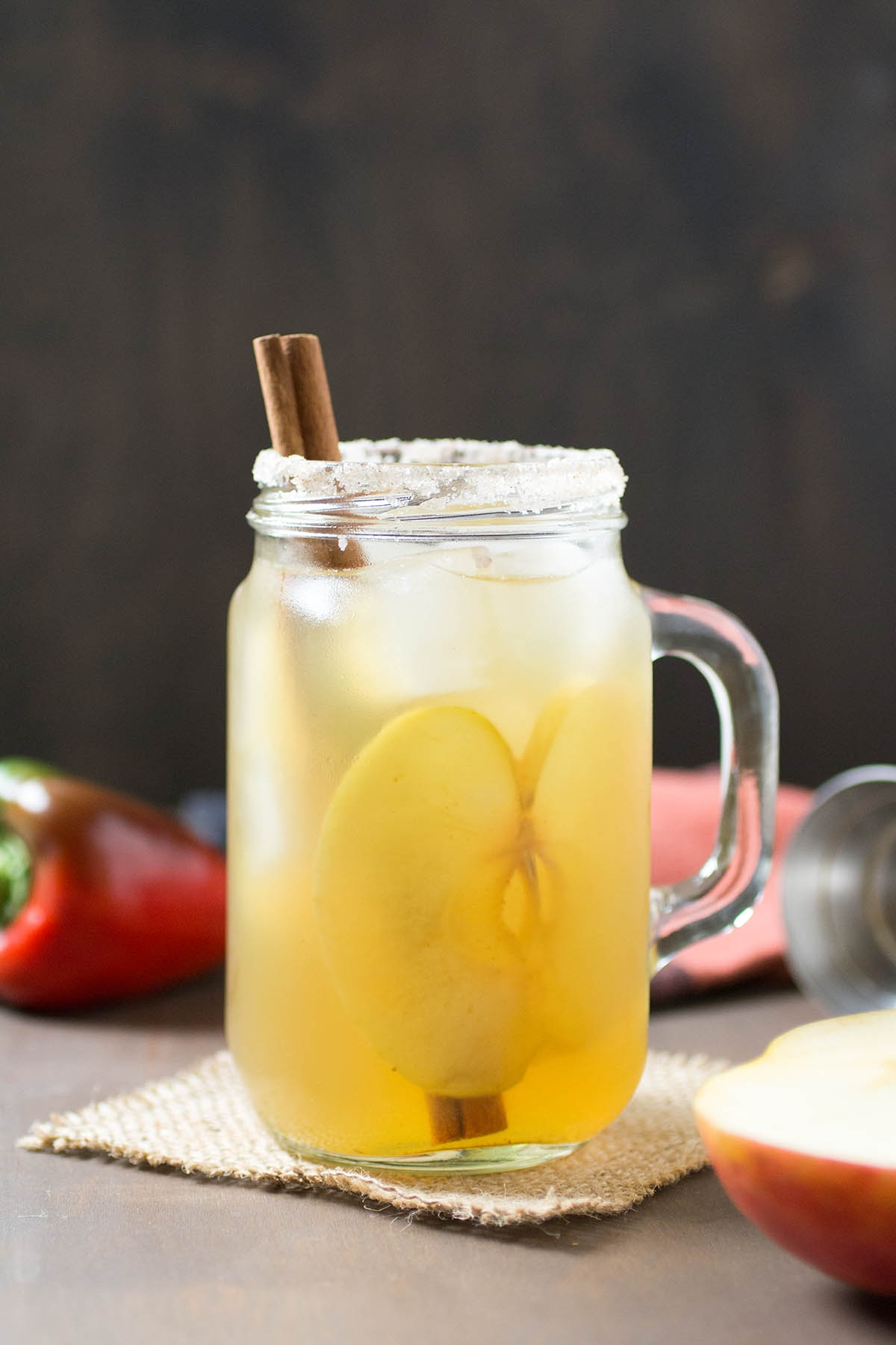 Salted Caramel Apple Cocktail