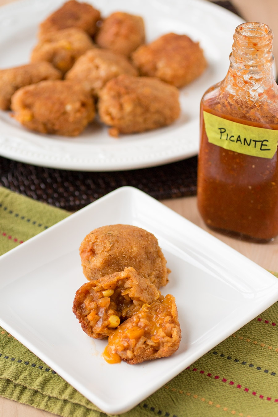 Mexican-Style Arancini (Mexican Rice Balls)