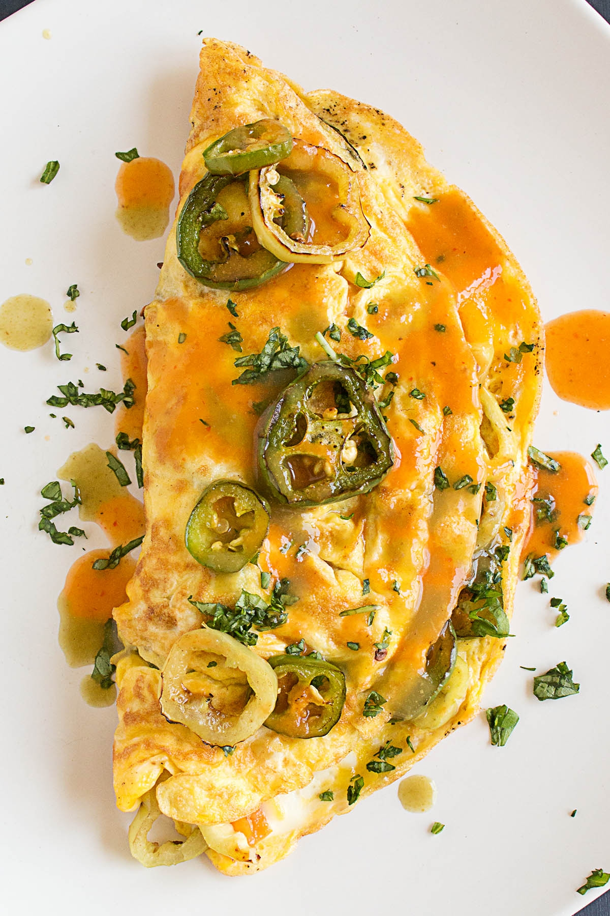 Spicy Pepper Lovers Omelet
