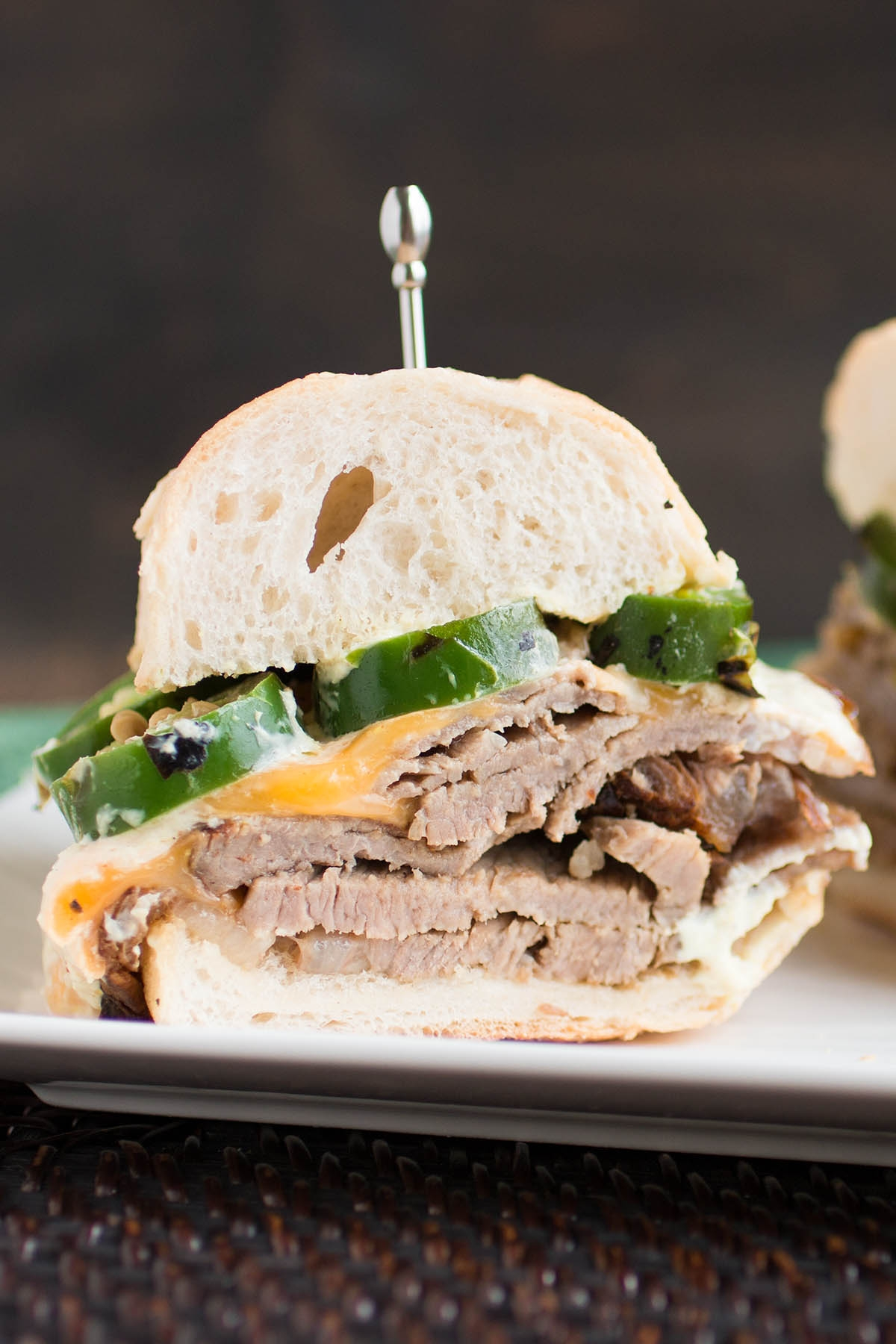 Prime Rib Sandwich with Horseradish Cream Sauce