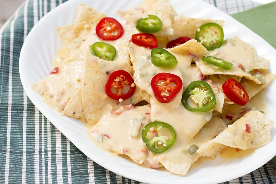 Spicy Beer-Cheese Sauce