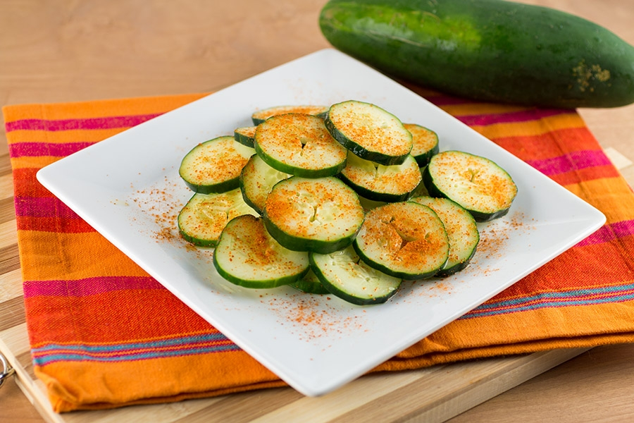 Chili and Lime Cucumbers