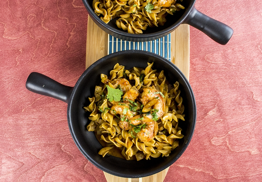 Massaman Shrimp with Thai Chiles