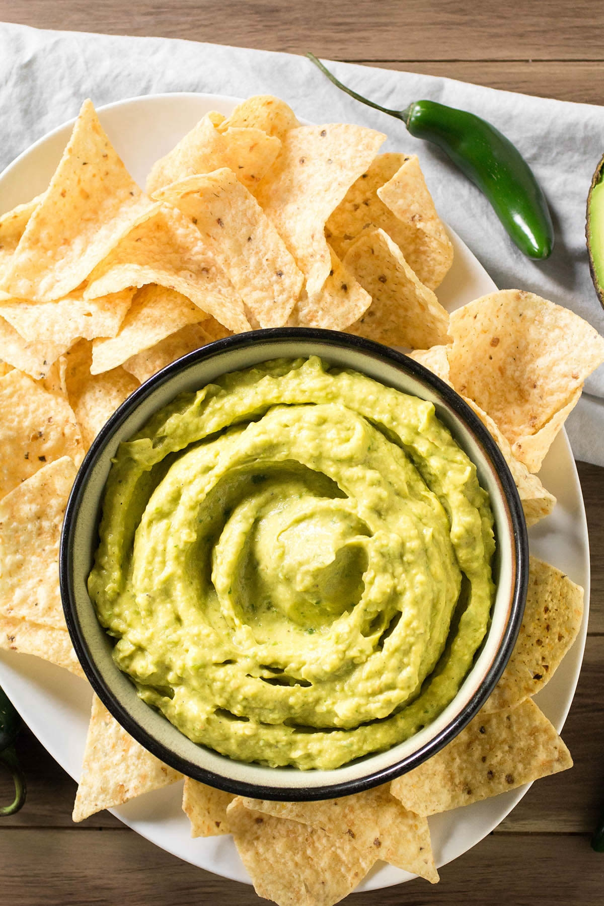 Avocado-White Bean Dip