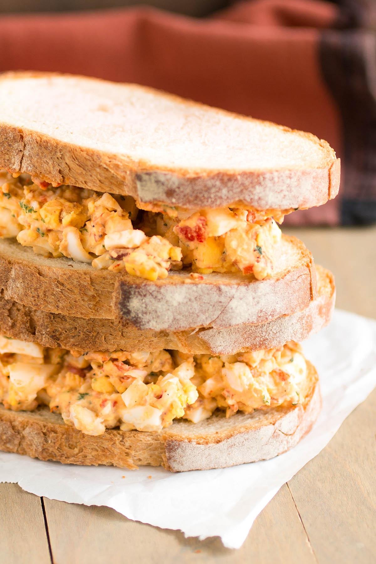 Italian Style Egg Salad Sandwich