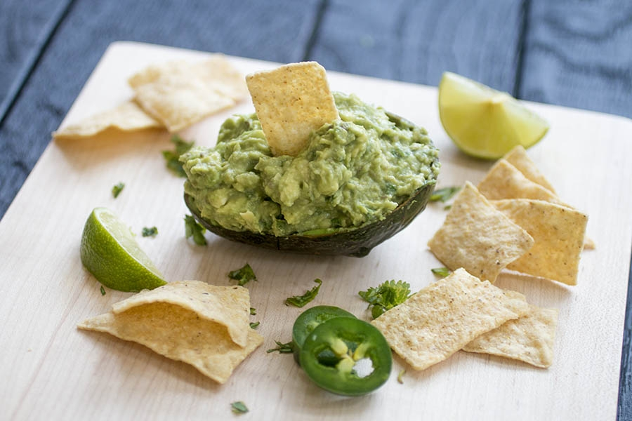 Perfect Homemade Guacamole