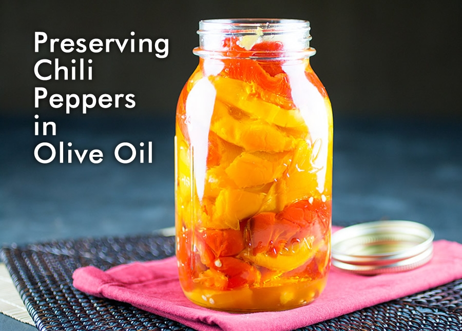Preserving Chili Peppers In Olive Oil