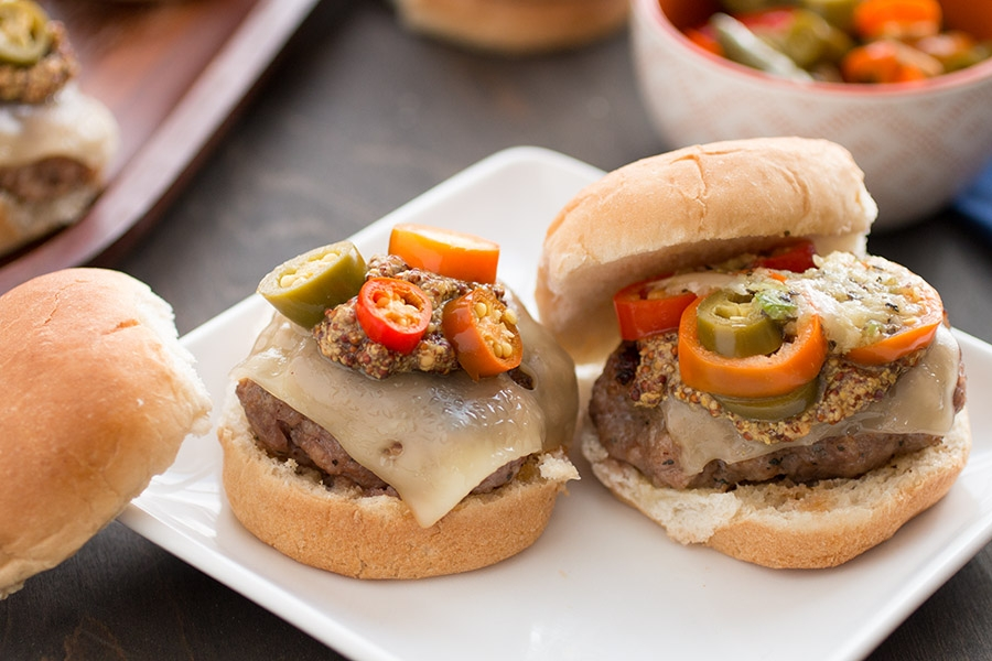 Cuban-Style Italian Sausage Sliders