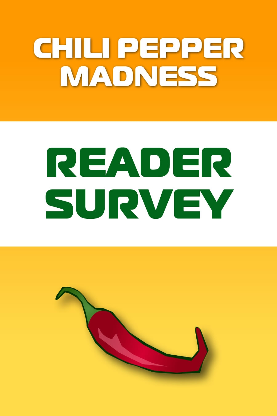 Chili Pepper Madness Reader Survey