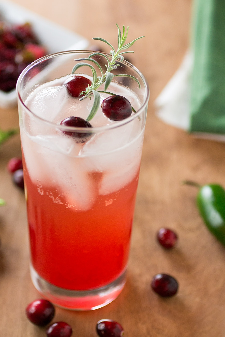 Cranberry-Rosemary Moscow Mule