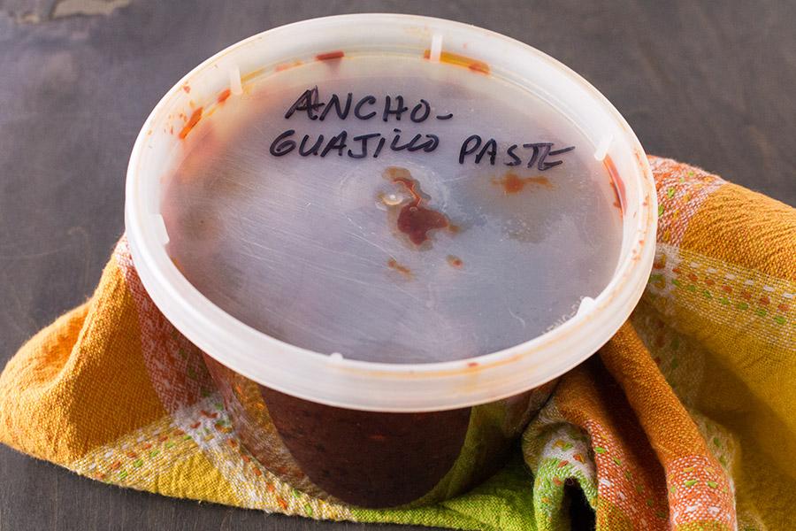 Ancho-Guajillo Chili Paste – Recipe