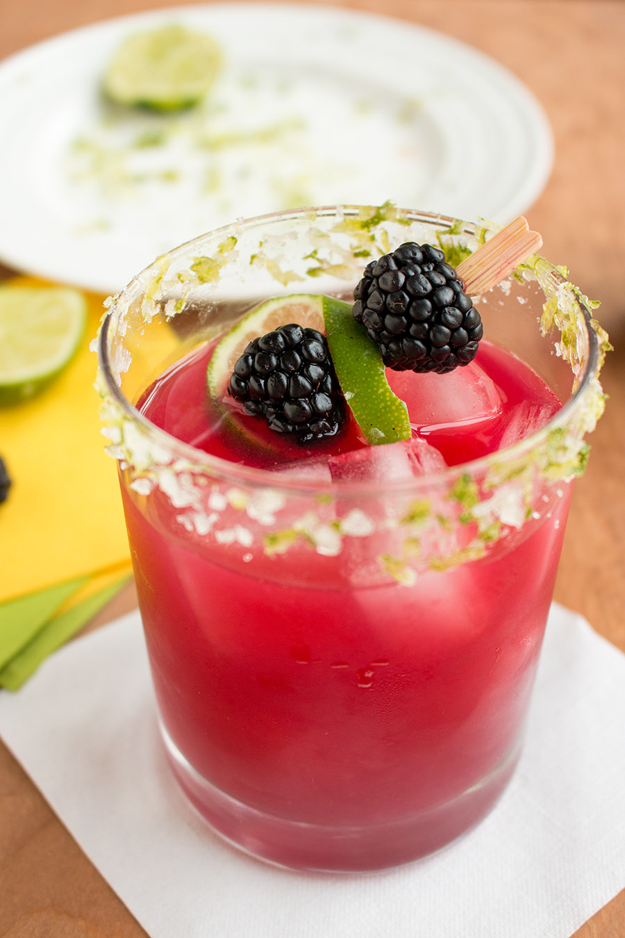 Blackberry Habanero Margarita