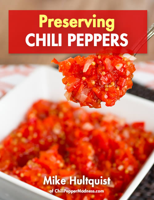 Preserving Chili Peppers - Cookbook/eBook
