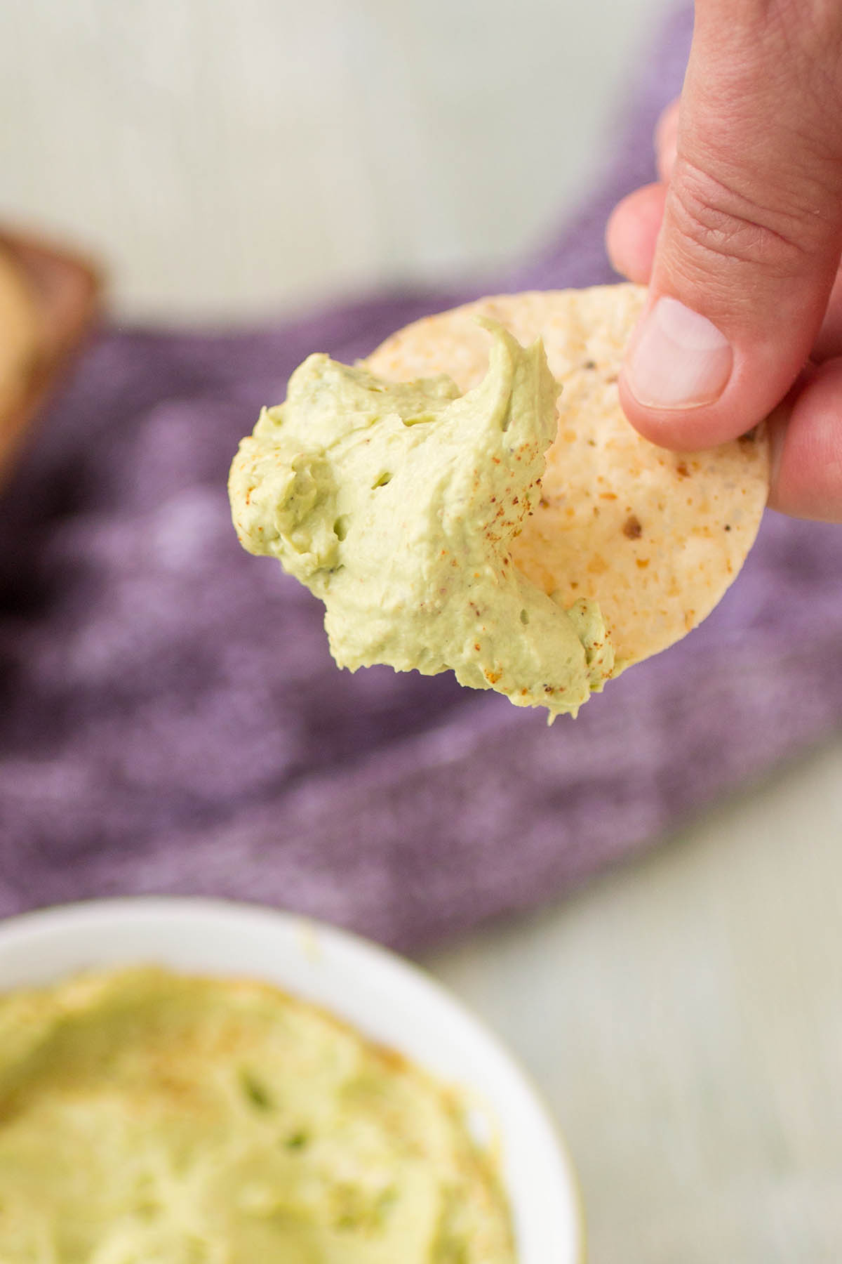 3-Ingredient Cajun Avocado Dip – Recipe