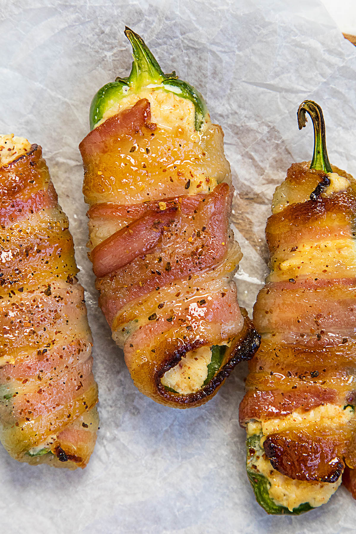 Candied Bacon Jalapeno Poppers Recipe