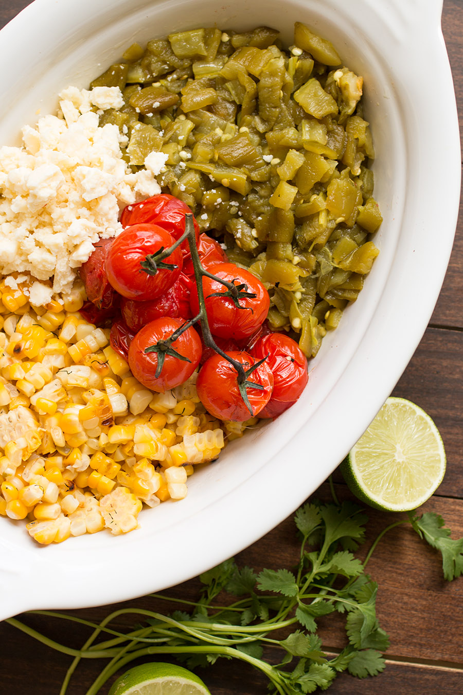 Charred Corn Salad with Hatch Green Chiles - Recipe