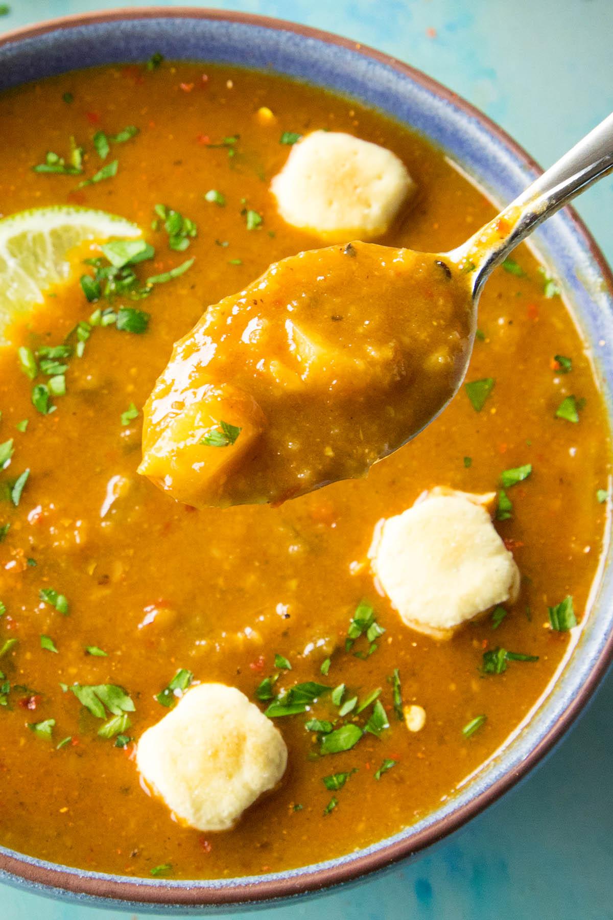 Cheesy Guajillo Potato Soup Recipe3b