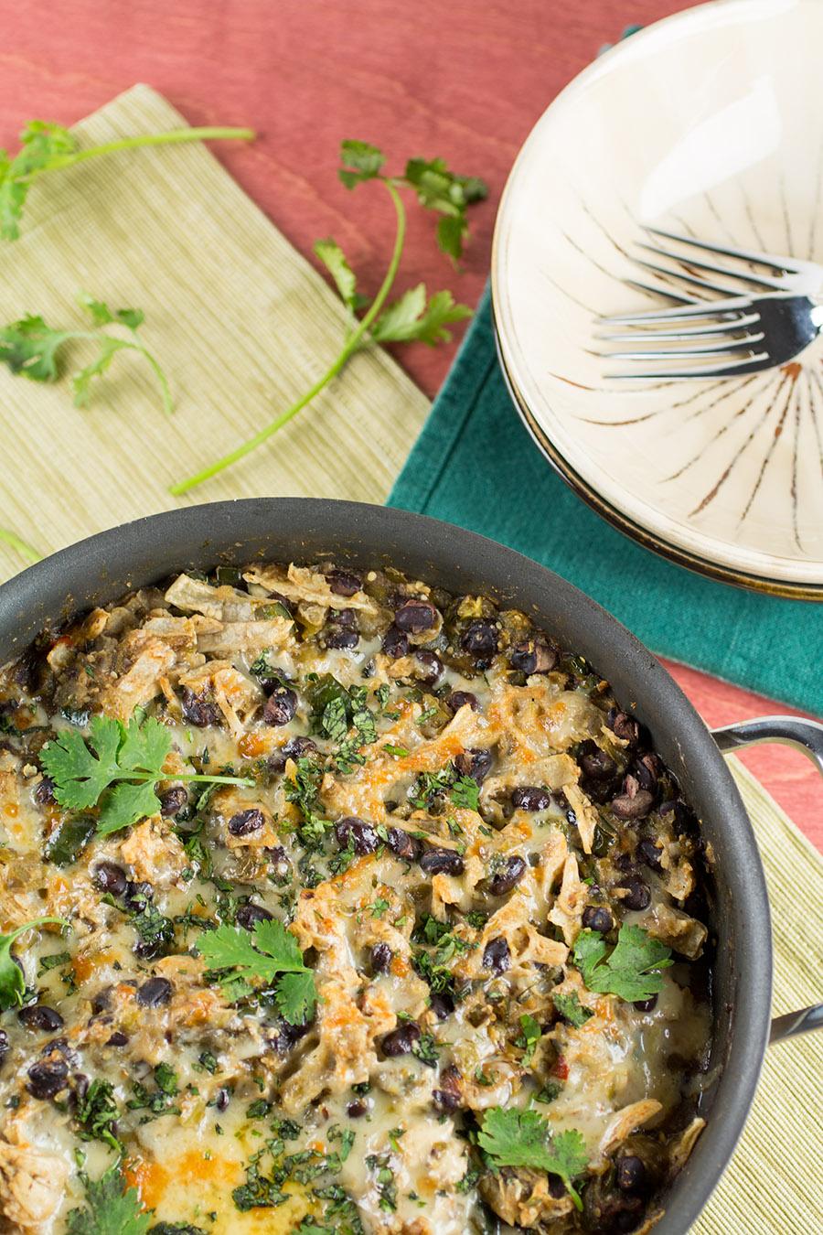 Chicken Enchilada Casserole Verde Recipe Chili Pepper