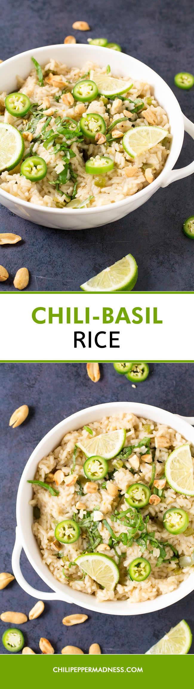 Chili-Basil Rice - Recipe