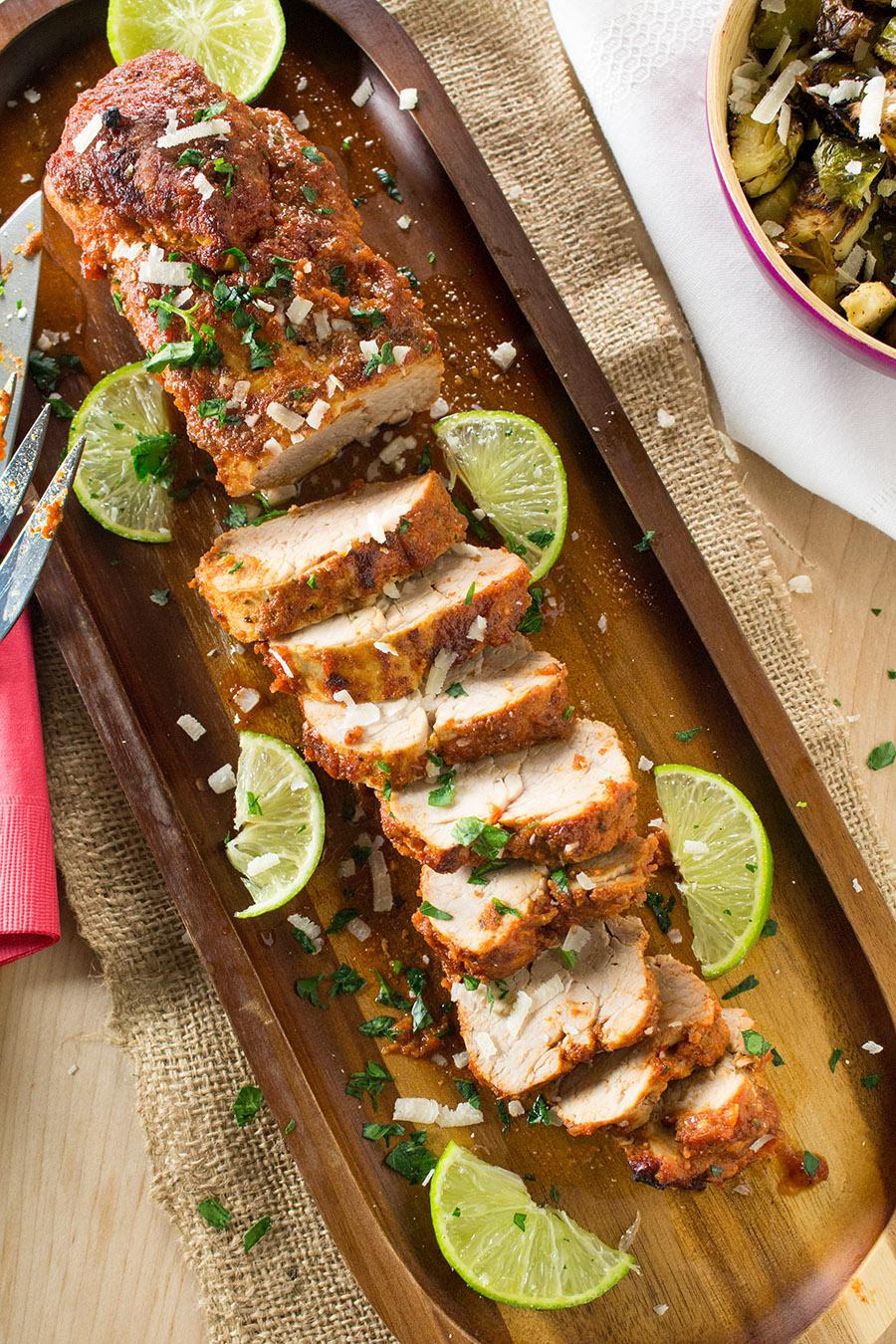 Chili Rubbed Pork Tenderloin