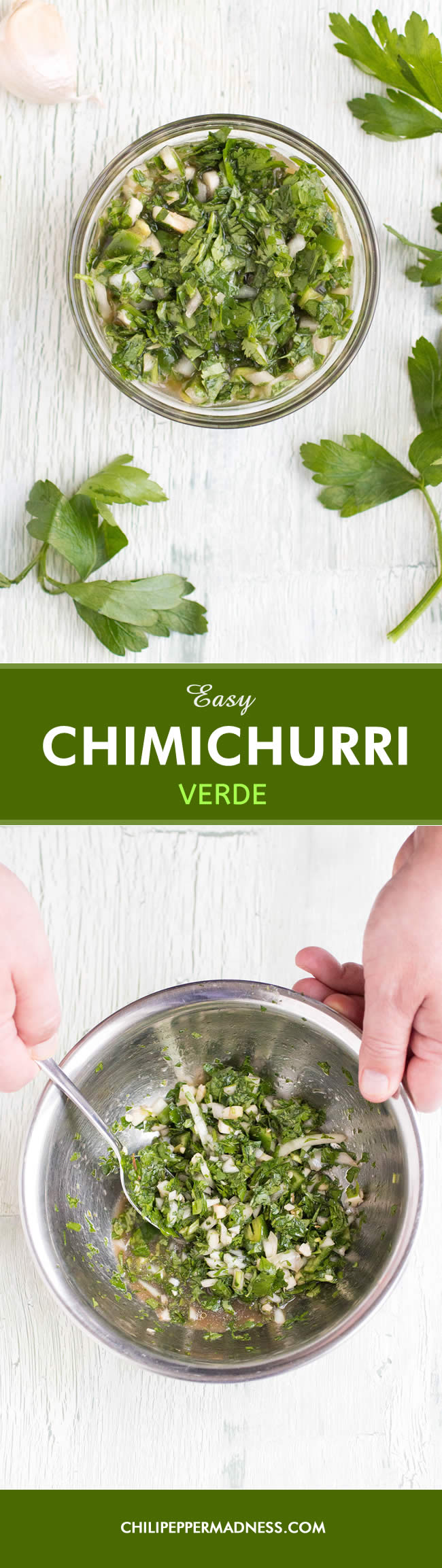 Easy Chimichurri Verde (Green Chimichurri) - Recipe