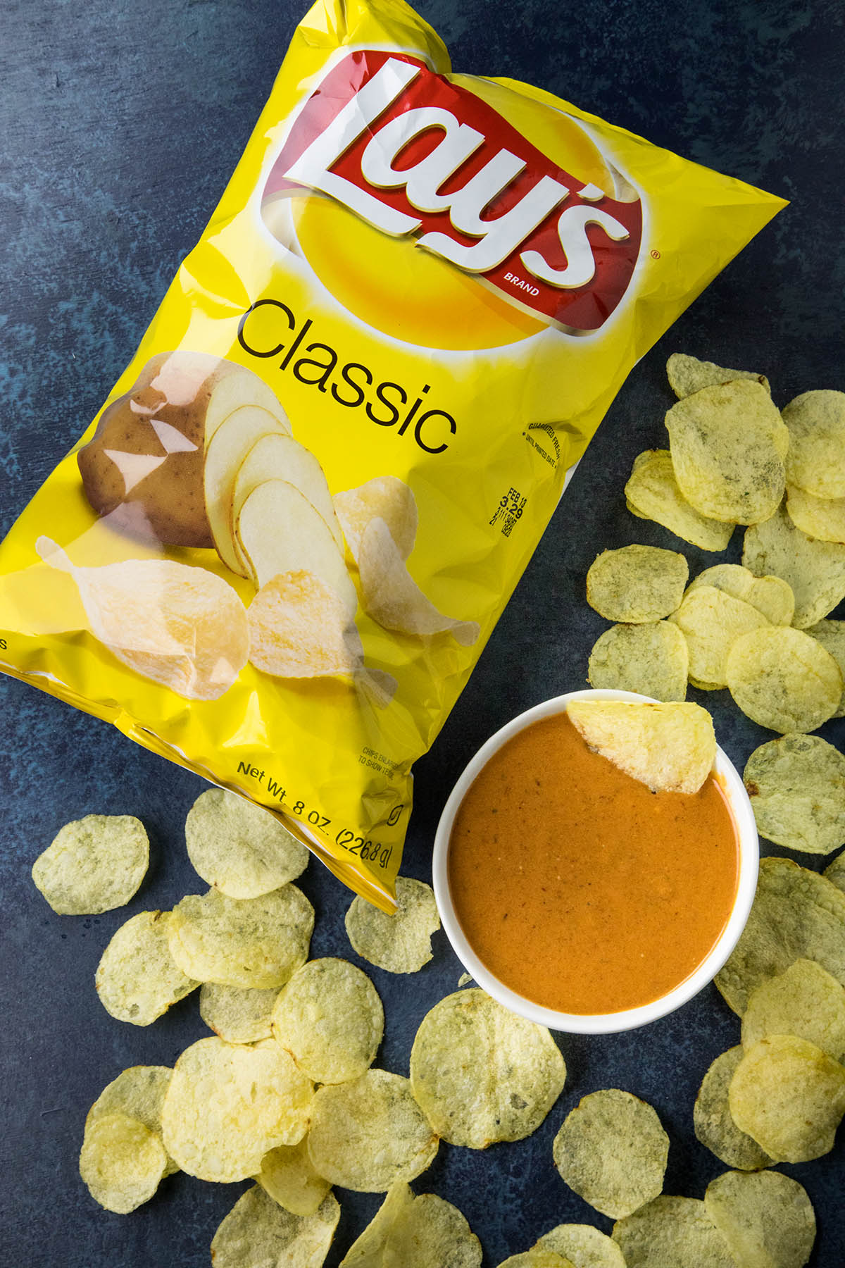 Chipotle Honey Mustard Dip w LAYS