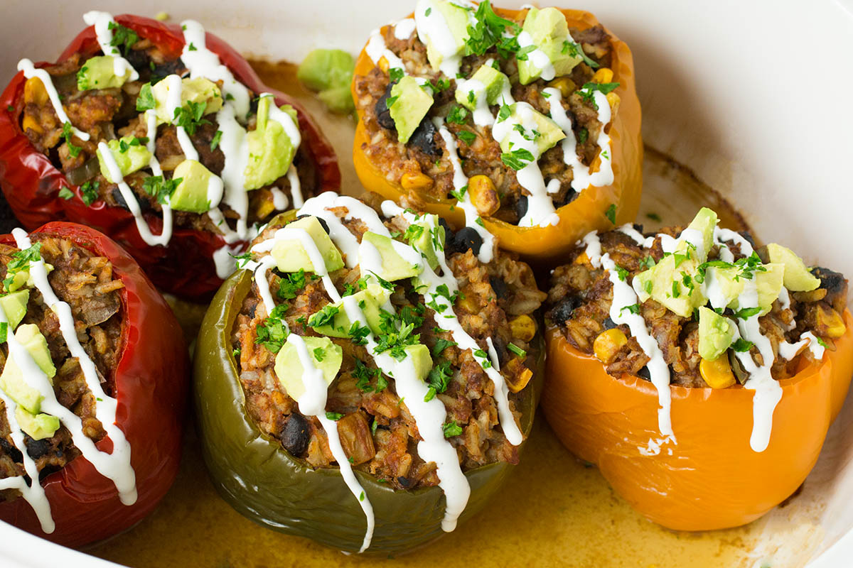 Crock Pot Stuffed Peppers – Mexican Style – Recipe