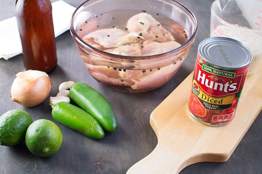 Easy Arroz con Pollo - Recipe