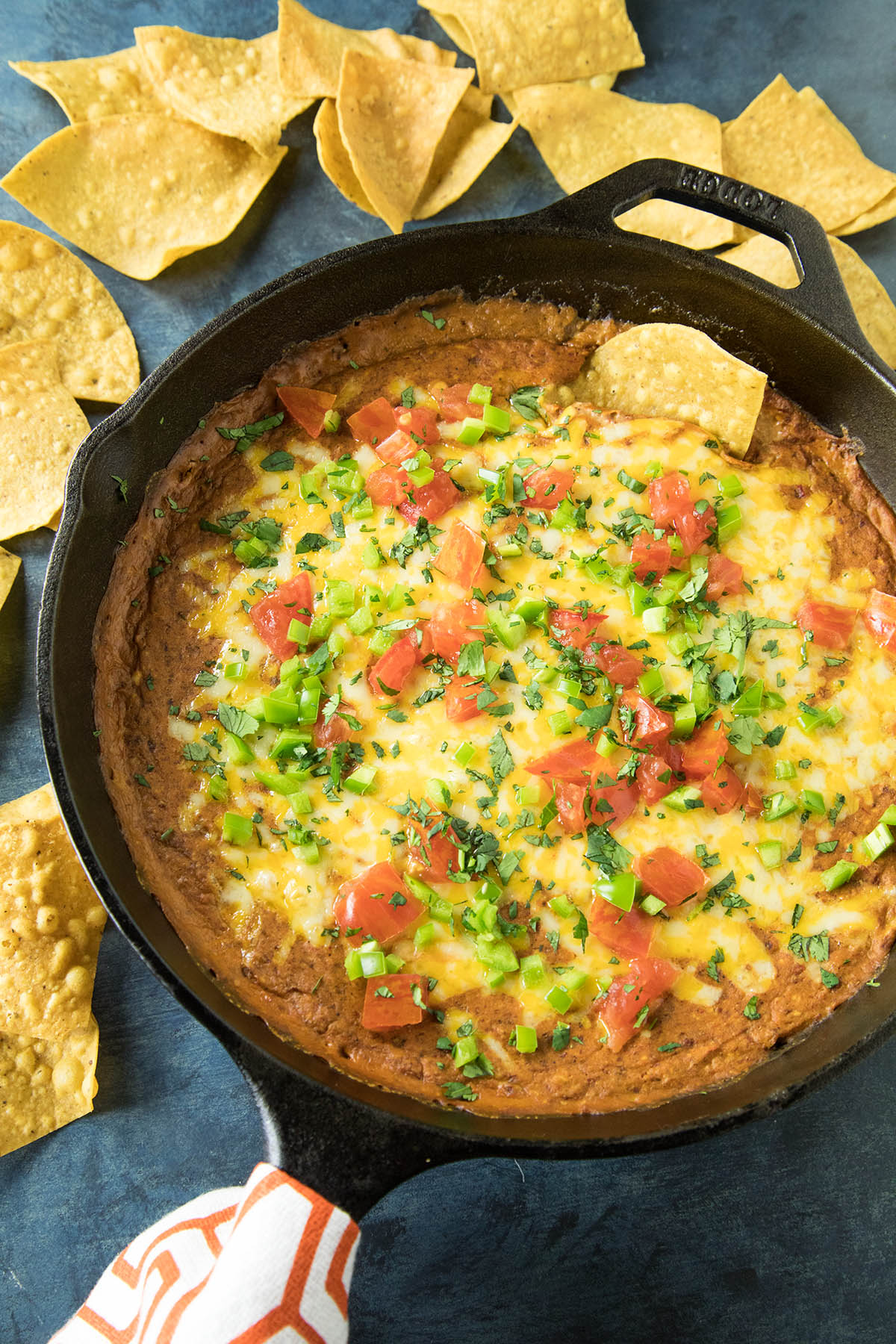 Easy Cheesy Chipotle Bean Dip - Recipe