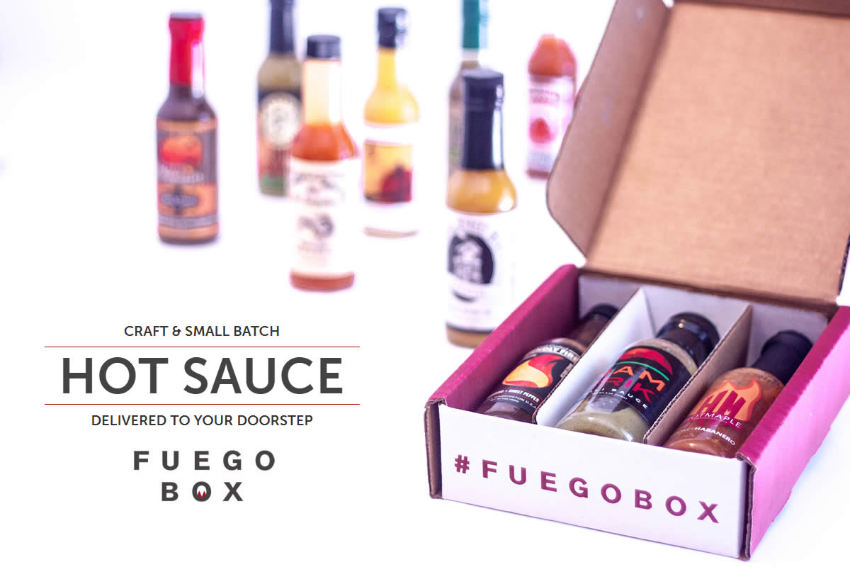 Fuego Box, Hot Sauce of the Month Club - $10 off your first subscription box