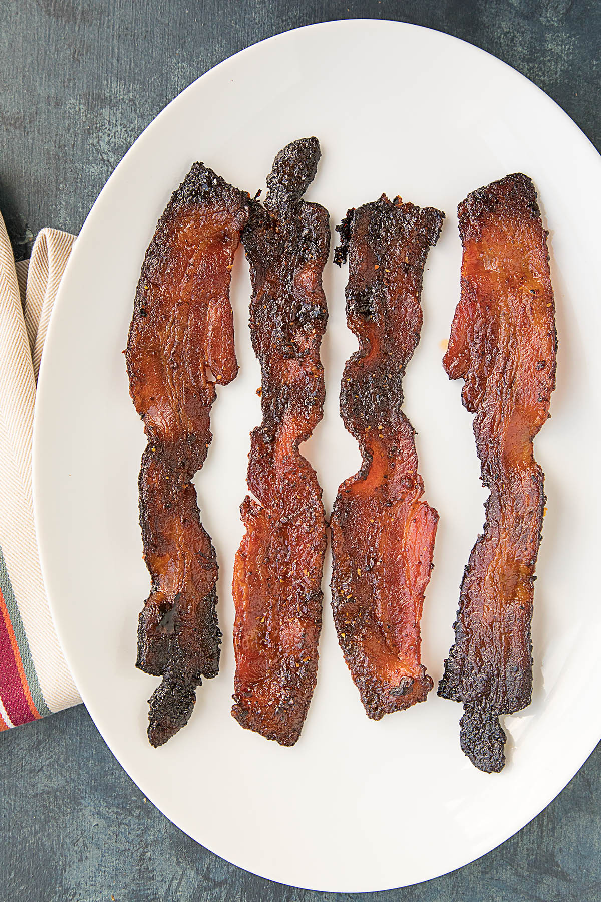 Sweet and Spicy Ghost Pepper Candied Bacon – Recipe