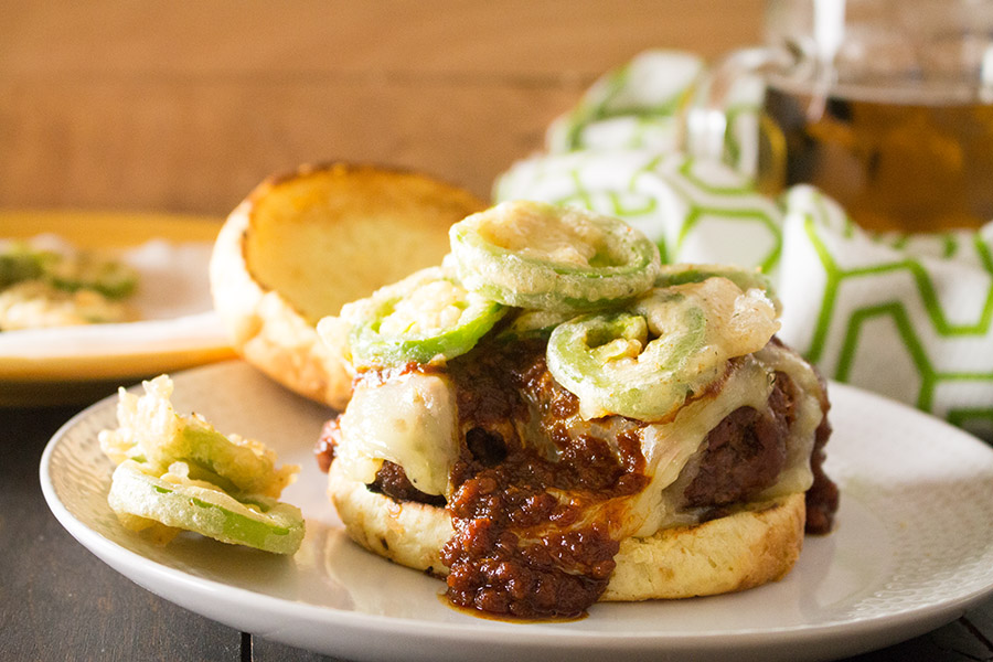 Grilled Steakhouse BBQ Burgers - Recipe
