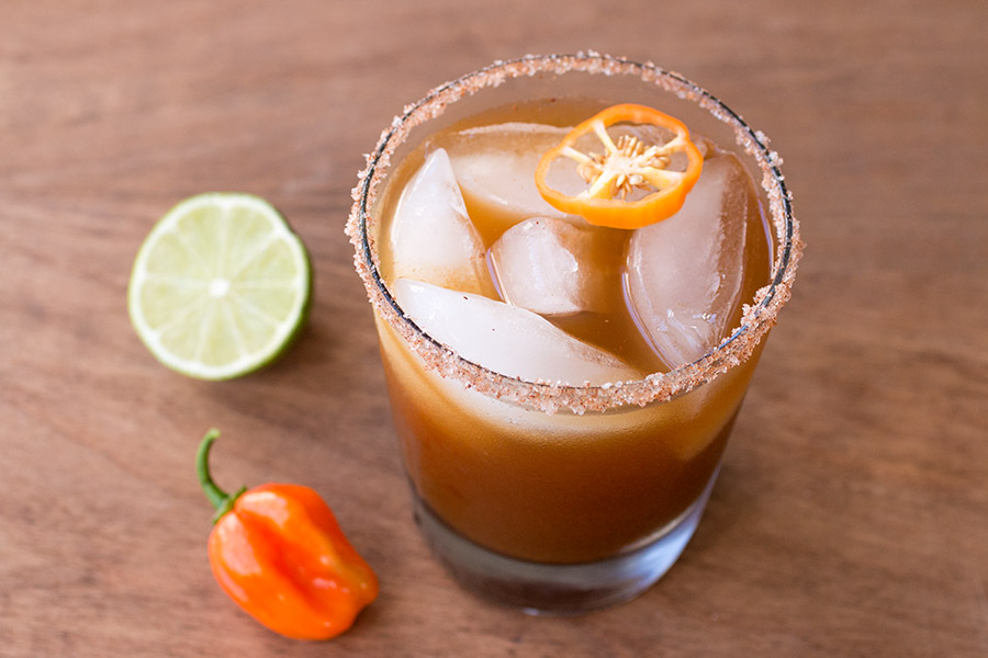 Habanero PumpkinSpiced Margarita
