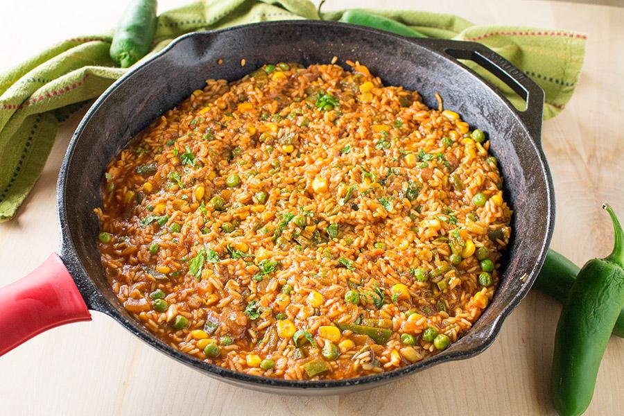 Homemade Mexican Rice Recipe
