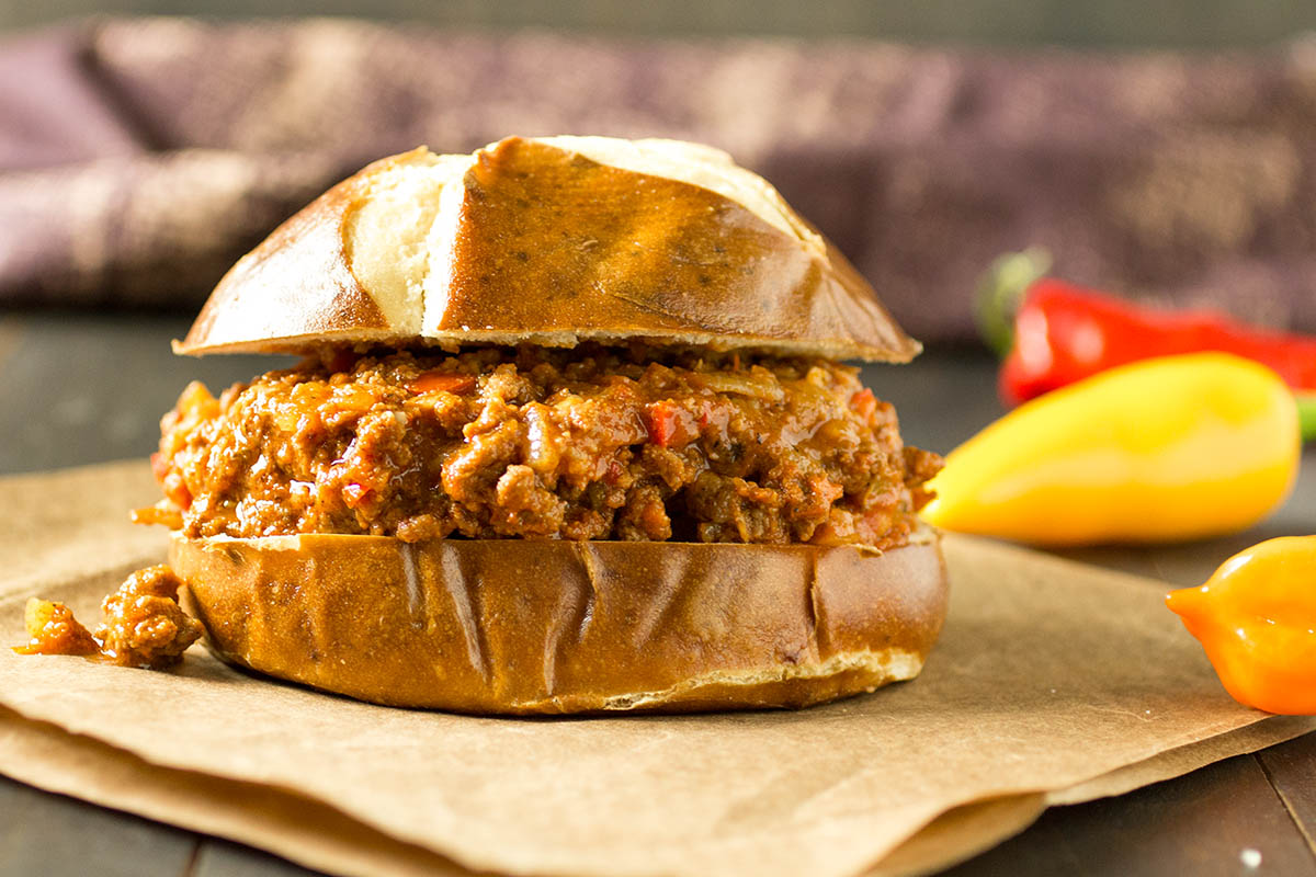 Homemade Sloppy Joes - Madness Style - Recipe