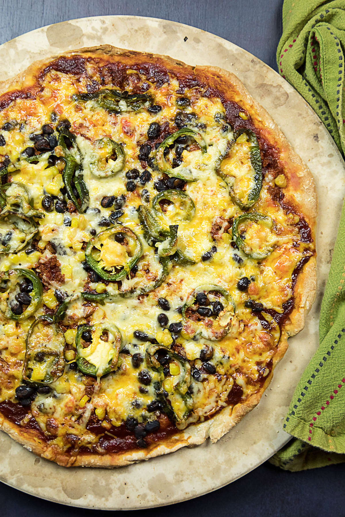 Homemade Southwest-Style Pizza – Recipe
