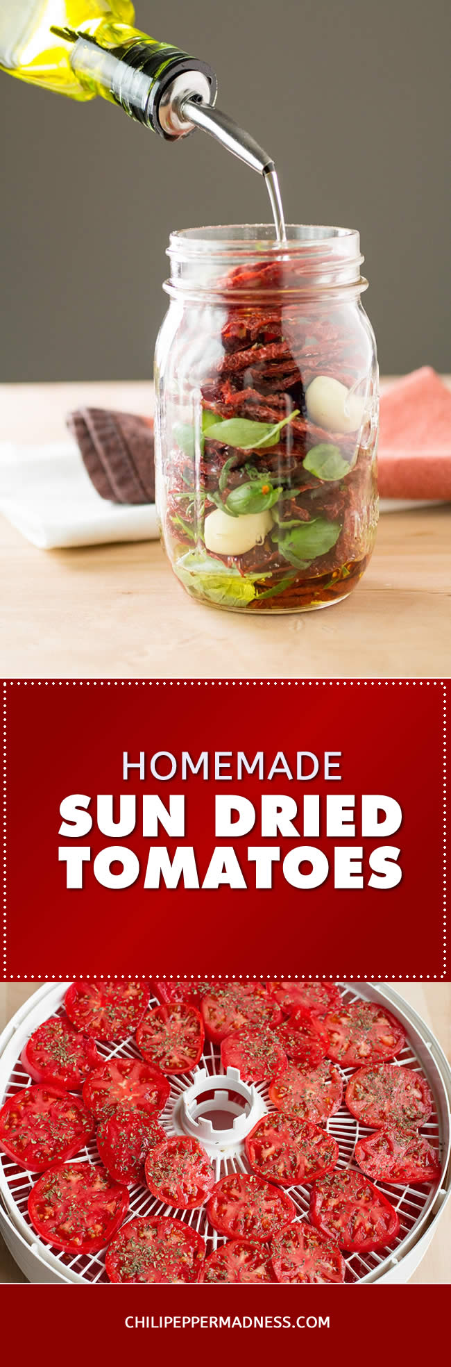 How to Make Sun Dried Tomatoes - with a Dehydrator - Recipe | ChiliPepperMadness.com