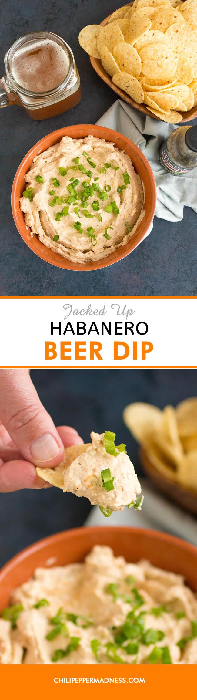 Jacked Up Habanero Beer Dip - Recipe