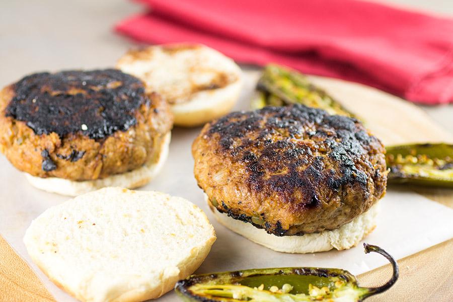 Juicy Ground Turkey Burgers Recipe