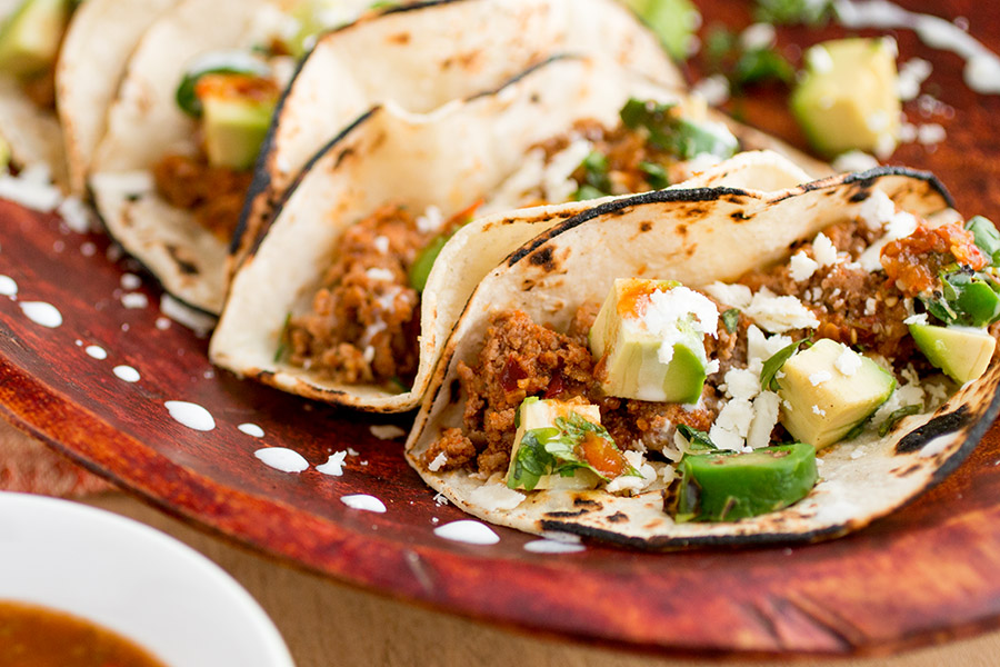 Juicy Turkey Tacos