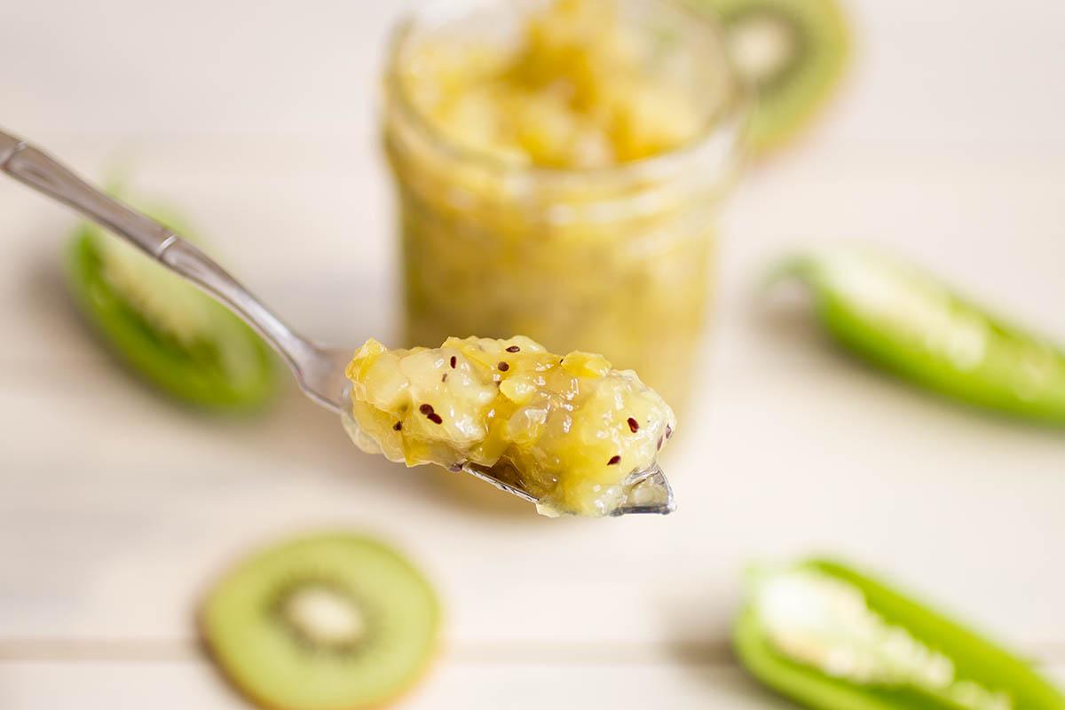 Kiwi-Jalapeno Jam – Recipe