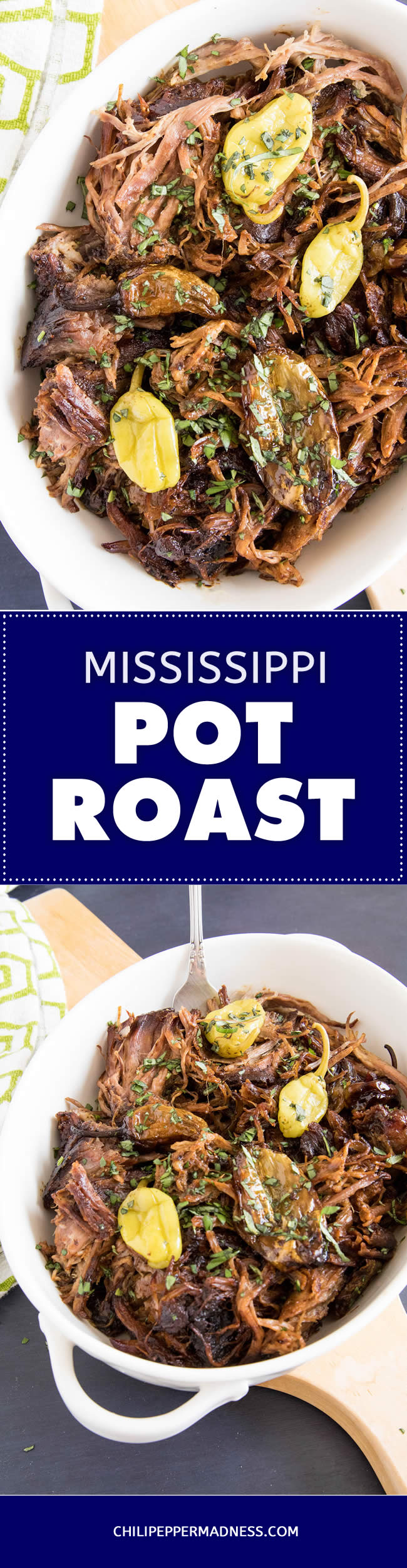 Famous Mississippi Pot Roast - Recipe